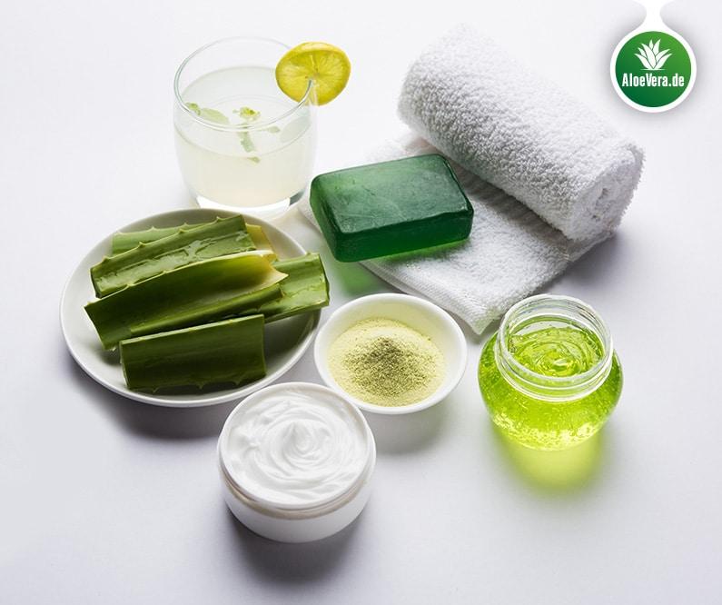 Aloe Vera Produkte; Seife Gel; Pulver; Creme